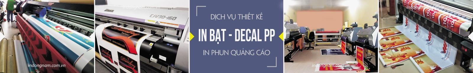 in bạt quảng cáo banner poster decal pp