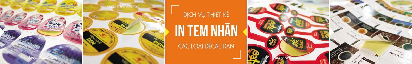 in tem nhãn mác decal giá rẻ tại Hà Nội
