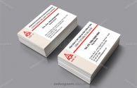 Mẫu card visit công ty Xây dựng Licogi CC