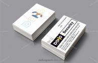 Mẫu card visit thiết bị điện DoBo