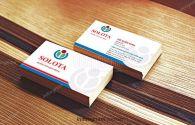 Mẫu card visit công ty Solota
