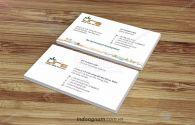 Mẫu name card công ty URS