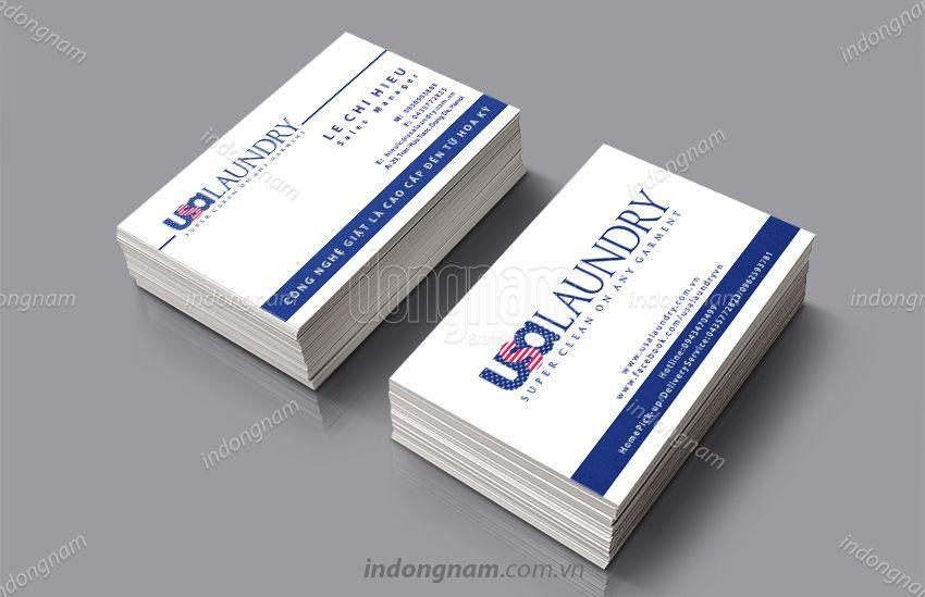 Mẫu card visit dịch vụ