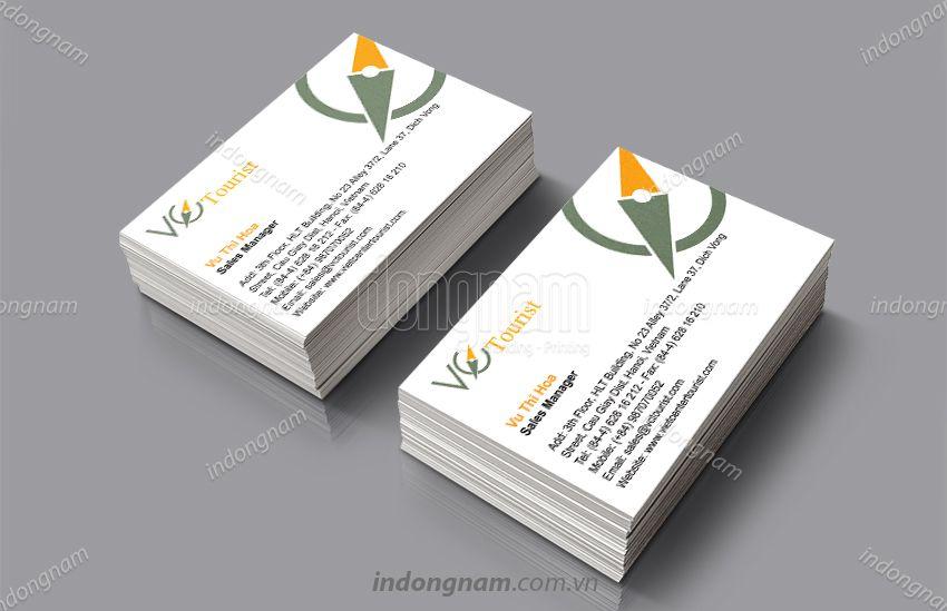 Mẫu card visit công ty Du lịch VC Tourist