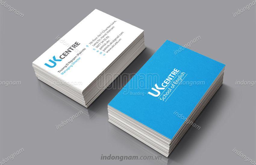 mẫu name card visit giáo dục đào tạo