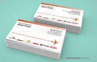 Mẫu card visit Đại lý vé máy bay Nhân Phúc