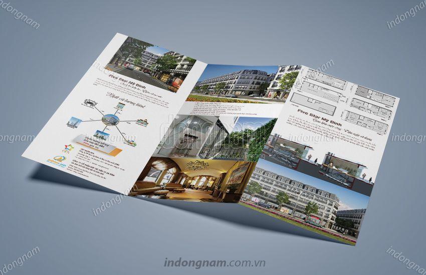 Mẫu thiết kế tờ rơi bất động sản An Bình Land
