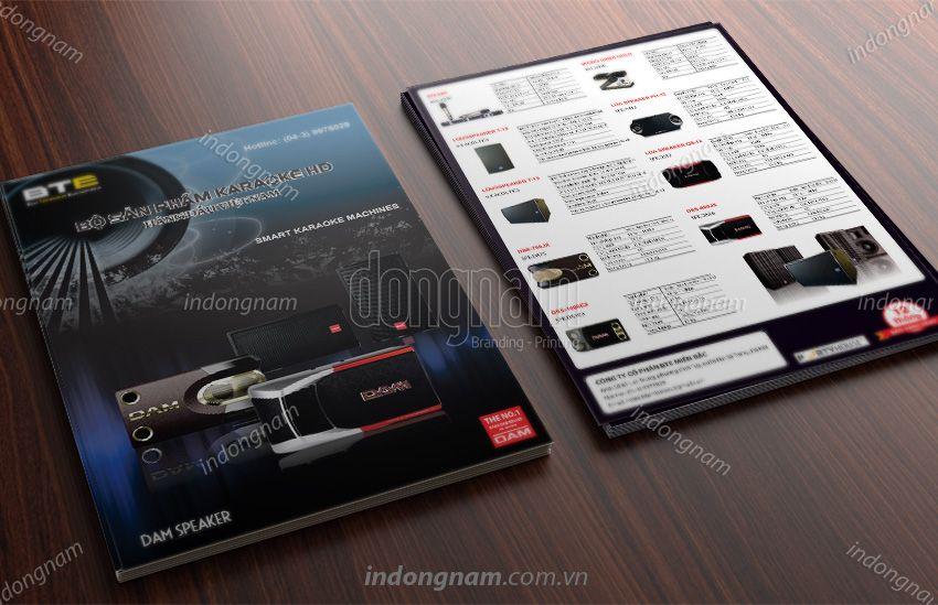 Mẫu thiết kế tờ rơi điện tử gia dụng BTE