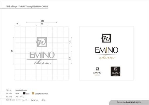 Thiết kế logo emino