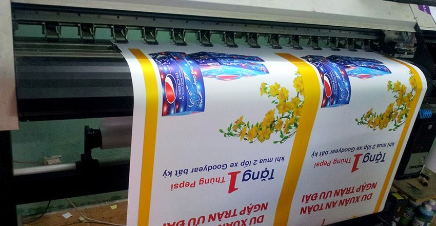 máy in decal pp, xưởng in decal pp