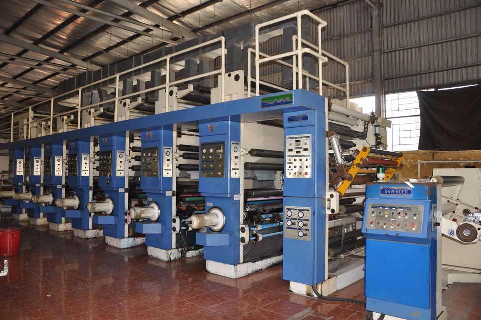 Máy in bao bì túi nilon công nghiệp ống đồng, lô trục khắc