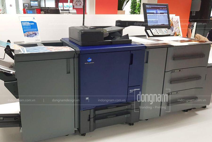in voucher số lượng ít lấy ngay bằng máy in laser kỹ thuật số