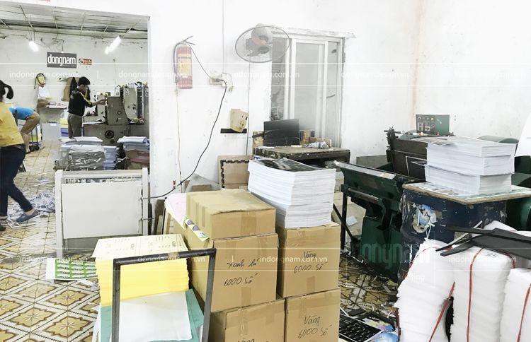xưởng in đông nam