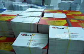 In card visit ngân hàng HD Bank