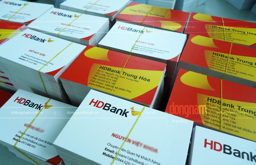in nam card ngân hàng HD bank