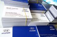 In card visit công ty ô tô Hyundai