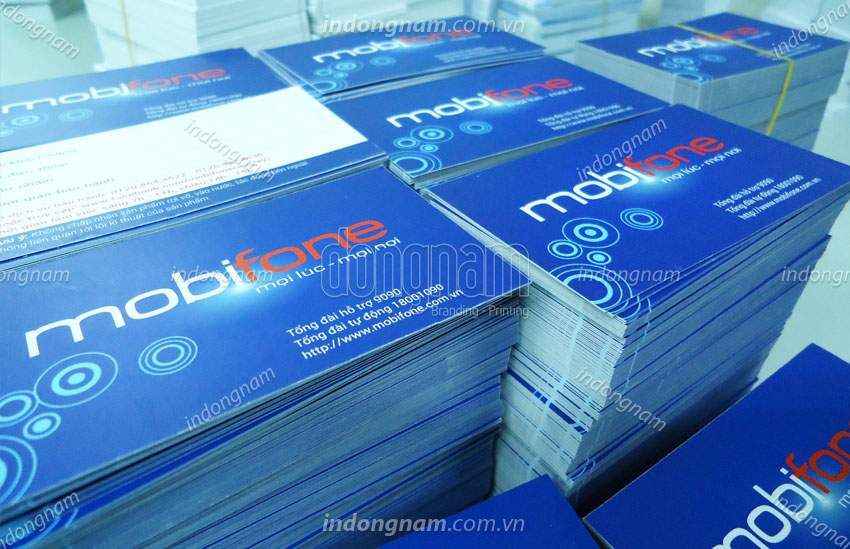in nam card mobifone