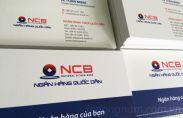 In card visit ngân hàng NCB