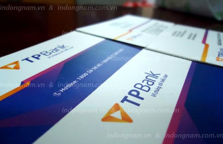 in card visit ngân hàng TP bank