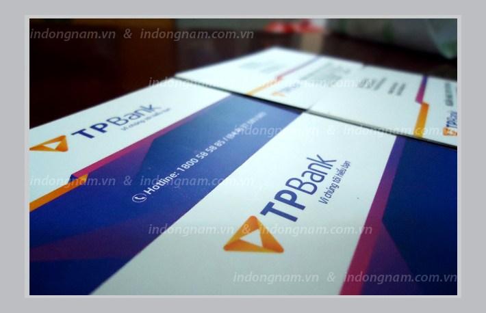in name card ngân hàng TPbank