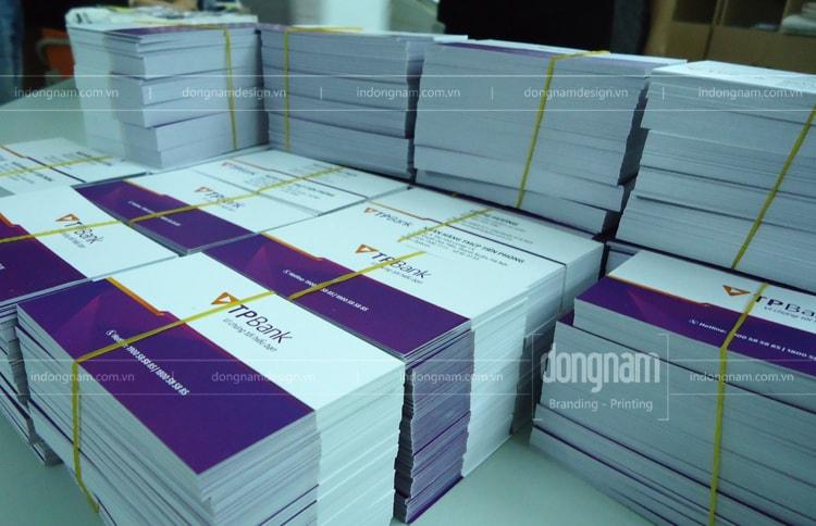 in card visit ngân hàng tiên phong TP Bank