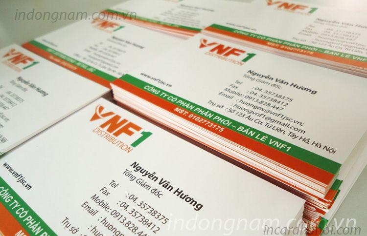 In card visit lấy ngay VNF1