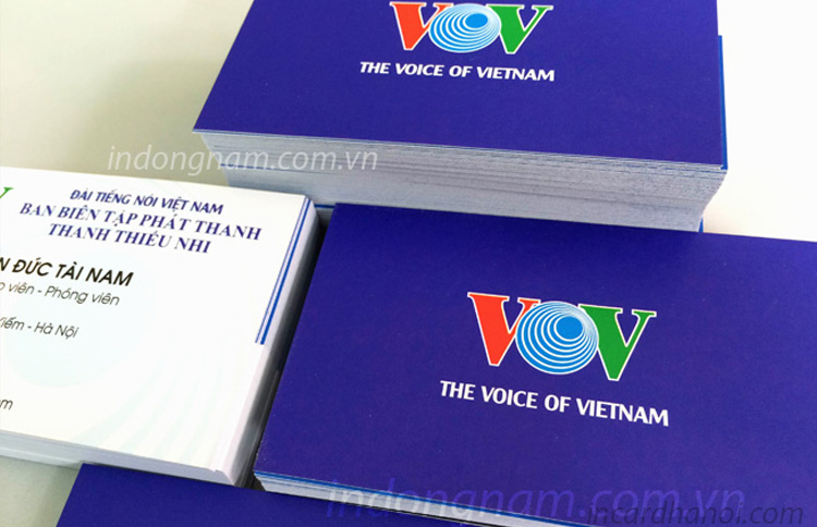 In name card VOV