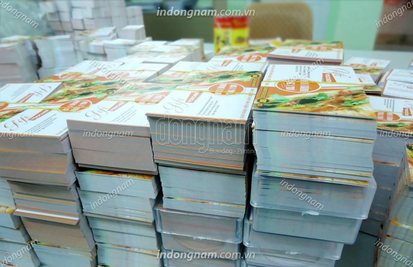 in name card cửa hàng, siêu thị