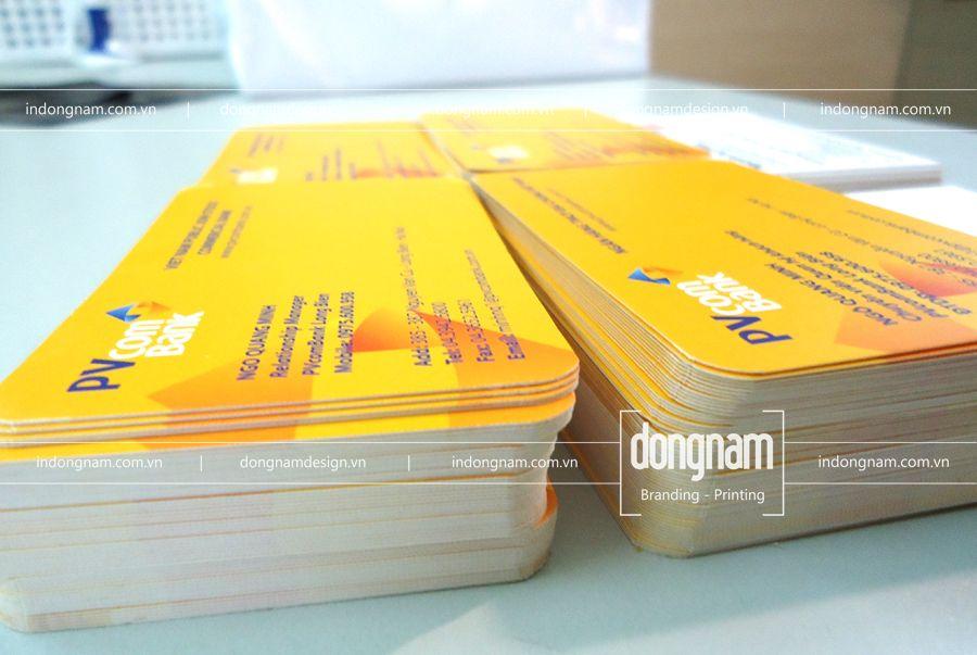 in name card ngân hàng tại Hà Đông