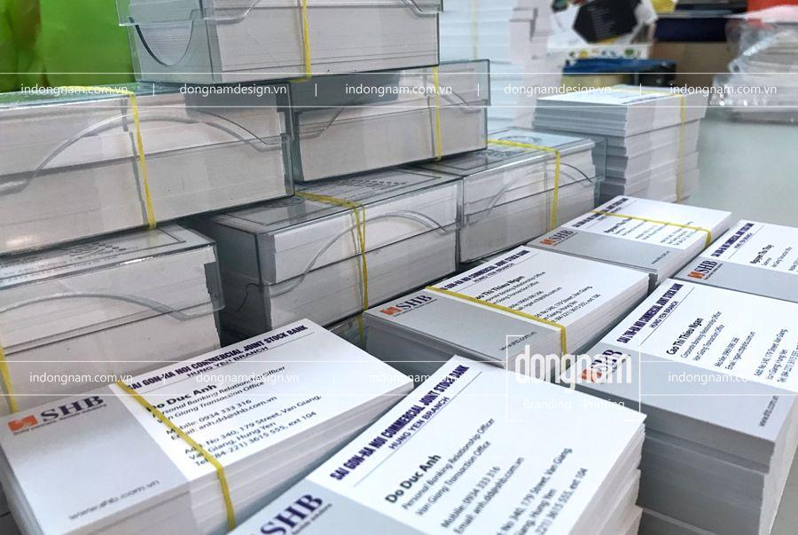 in name card ngân hàng HSB bank