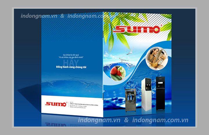In catalogue hướng dẫn sử dụng máy lọc nước và cây nước Sumo