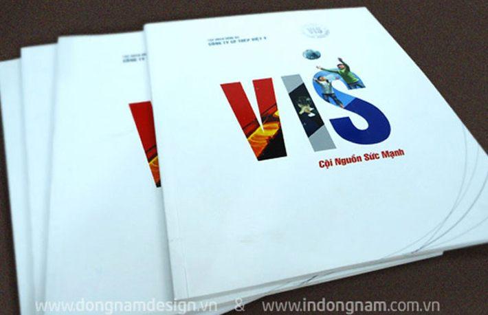 In catalogue A4 công ty thép Việt Ý