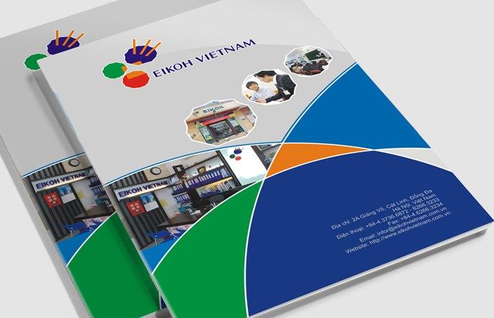 in catalogue công ty đào tạo tiếng Nhật EikoH