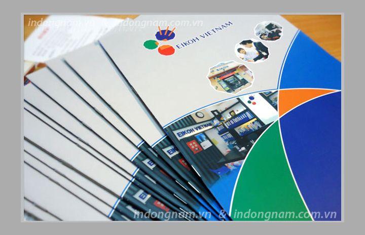 in catalogue giới thiệu trung tâm đào tạo