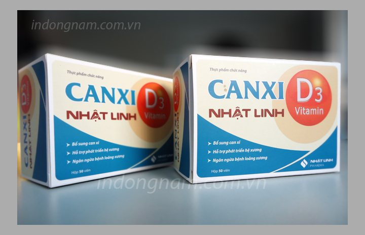 in vỏ hộp giấy canxi D3