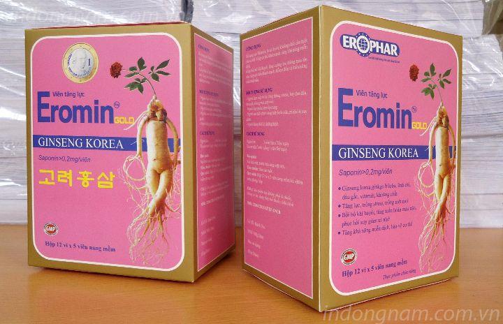 in vỏ hộp thực phẩm chức năng eromin