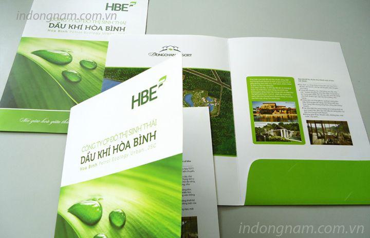 in kẹp file tài liệu khu đô thị sinh thái HBE