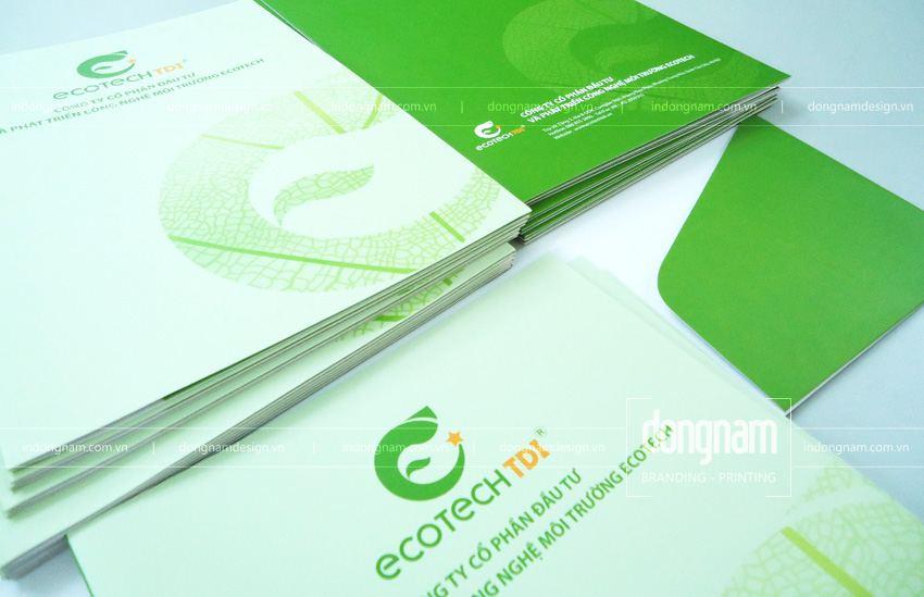 thiết kế và in kẹp file tài liệu 2 mặt cho công ty