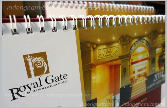 in lịch bàn lịch tết khách sạn