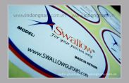 In mác sản phẩm Swallow