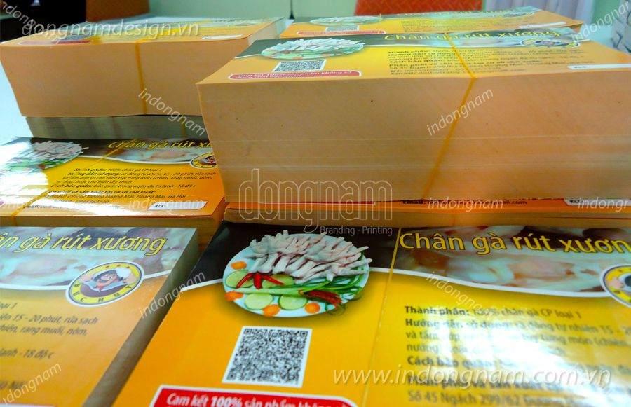 In nhãn mác decal giấy theo yêu cầu tại Hà Nội