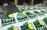 In sticker decal dán cốc giá rẻ tại Hà Nội