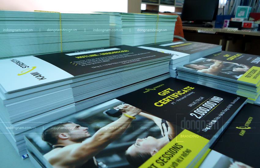 in voucher giảm giá trung tâm thể dục thể thao GYM, fitness