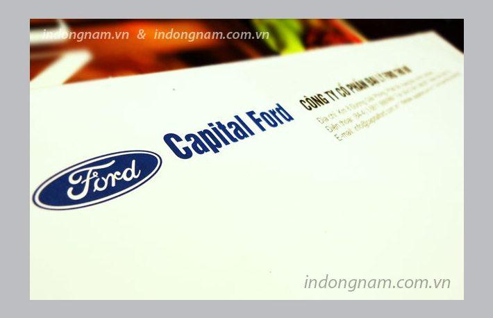 in phong bì ô tô Ford