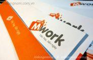 In phong bì công ty Mwork