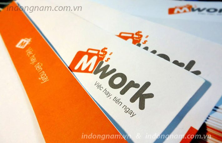 In phong bì A4 Mwork giấy offset 150