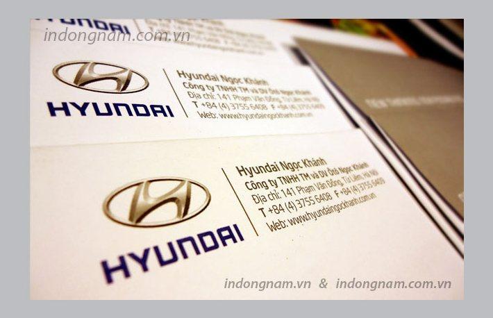 in phong bì A4 công ty Hyundai