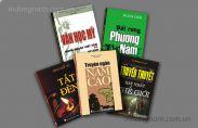 Thiết kế và in bìa sách, truyện cho các nhà sách