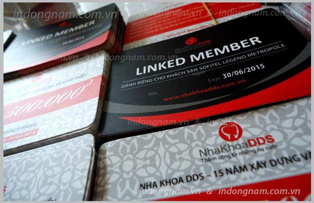 in thẻ thành viên, thẻ khách hàng