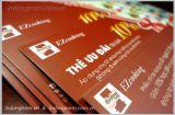 In thẻ quà tặng giảm giá, thiết kế in thẻ ưu đãi